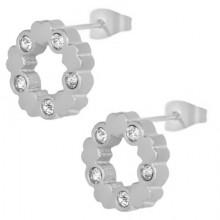 Сережки пусеты – купить стильную бижутерию в «Steel-Evolution» купить №21