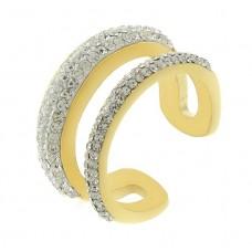 Женское кольцо из стали Вероника