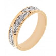 Кольцо сталь для женщин Гортензия