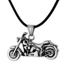 Кулон из стали для мужчин Мотоцикл