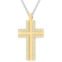 Кулон - крест ПС-2130