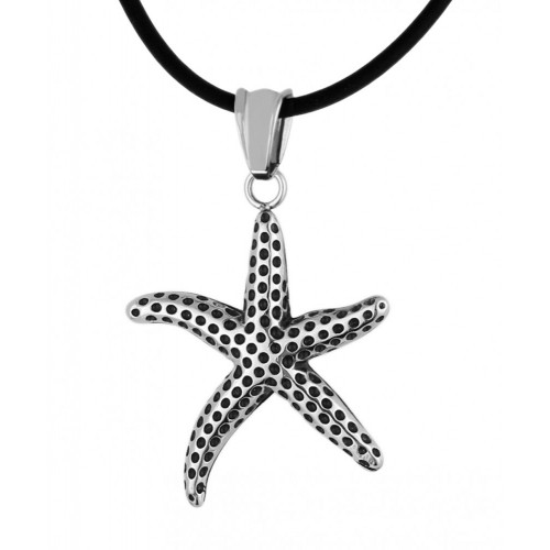 Женский кулон из ювелирного сплава Морская звезда