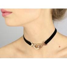 Чокер-ожерелье Звенья цепи