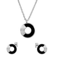 Набор из стали (серьги и кулон) ПС-2397