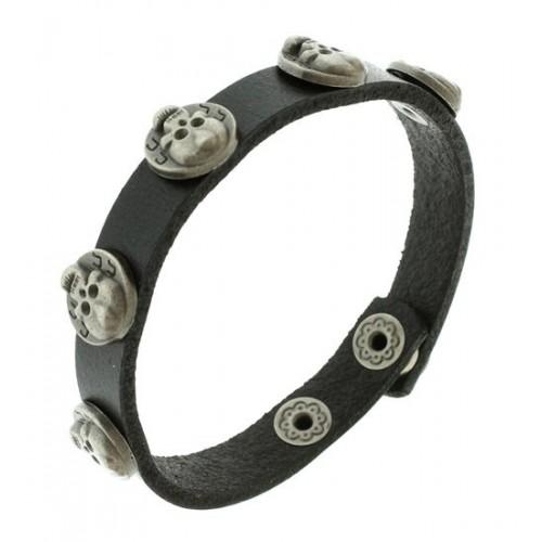 Кожаный браслет БС-2799