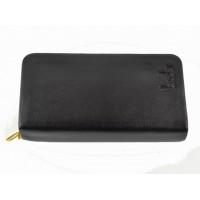 Мужской кошелек-барсетка черного цвета