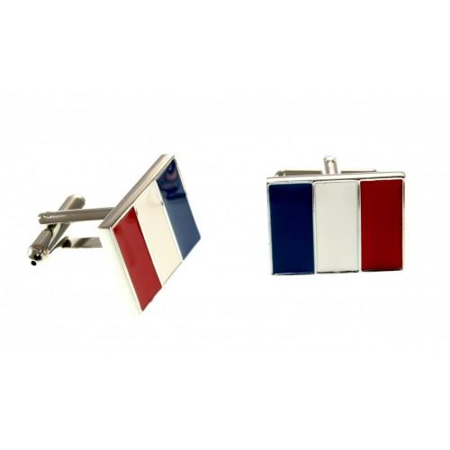 Запонки мужские из медицинской стали Франция