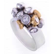 Кольцо сталь для женщин Фантазия