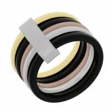 Кольцо стальное разноцветное