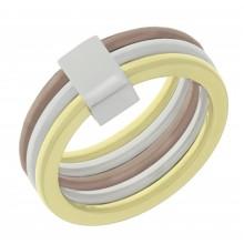 Стальное кольцо женское Амазонка