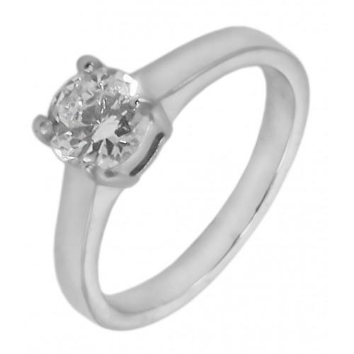 Кольцо для помолвки стальное Урсула