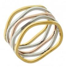 Стальное кольцо женское 1,1 см