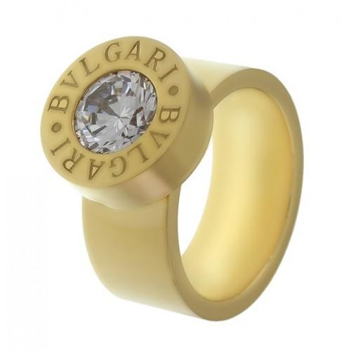 Женское кольцо из стали с комплектом сменных камней