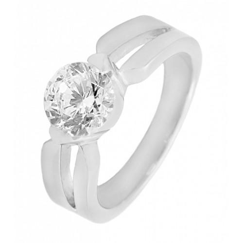 Кольцо для помолвки стальное Гесиона