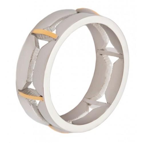 Женское кольцо из стали Дарлин