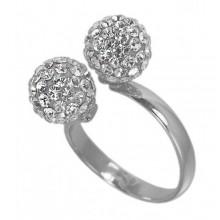 Кольцо стальное для женщин 3 мм