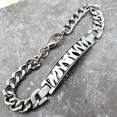 Терапевтический магнитный браслет из стали