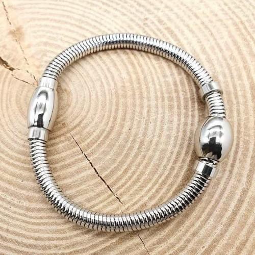 Браслет-цепь из ювелирной стали для подвесок/шармов