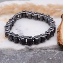 Мужской браслет из стали Мотоциклетная цепь