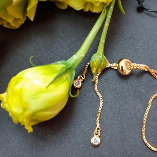 Креативный браслет-цепочка на руку Золотая бабочка бижутерия