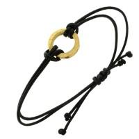 Фенечка-оберег женская из текстильных шнуров и геометрическим декором