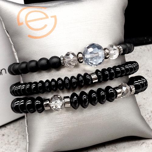 Эластичные браслеты из натурального камня Парвати