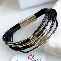 Браслет из текстильных шнуров Сеона женский бижутерия