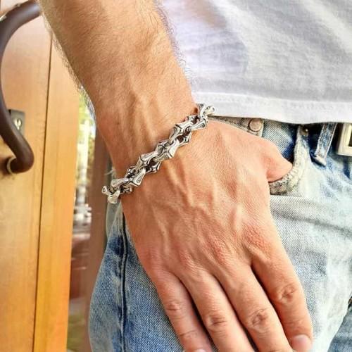 Кельтский браслет на руку звеньевой