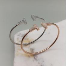 Женские браслеты из стали Коллекции Минимализм купить №18