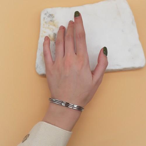 Браслет на руку с замком-защелкой медицинская сталь Королева жезлов