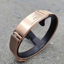 Модный браслет из медицинского золота для мужчин Антарес