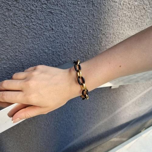 Женский браслет из комбинированной стали Эрикта