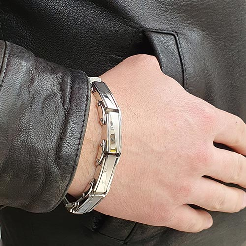Браслет металлический мужской Фагот