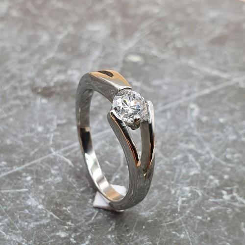Кольцо для предложения руки и сердца Вечный союз