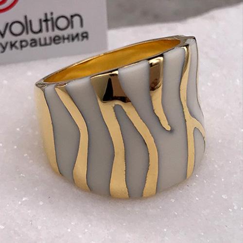 Кольцо с эмалью Ляйсан