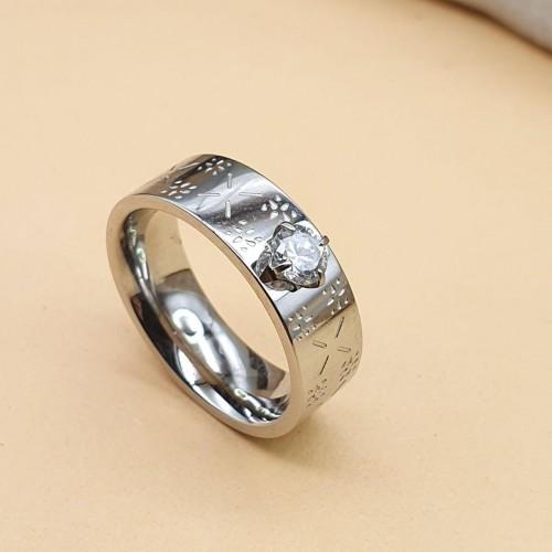 Кольцо стальное широкое женские кольца Покахонтас