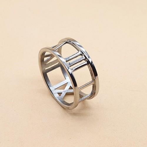 Модное стальное кольцо для женщин Времена года