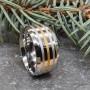 Кольцо из медицинской стали мужское Гасконец купить №3