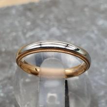Тонкое женское кольцо из медицинского сплава Майли