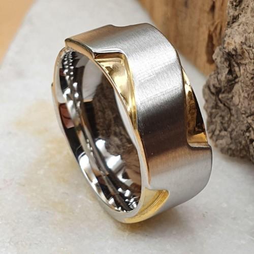 Женское кольцо из стали Имидж