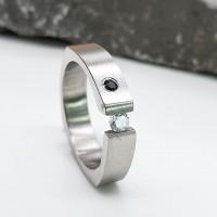 Кольцо сталь для женщин Дженнифер