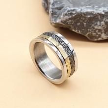 Мужские кольца из стали Тип/Модель украшения Антистресс купить №18
