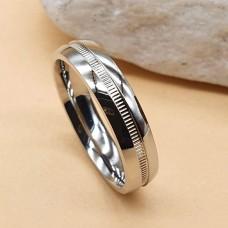 Парные обручальные кольца из медицинской стали 7 мм глянцевое