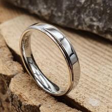 Стальное кольцо из стали Ментор унисекс