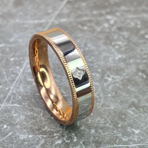 Женское кольцо из стали Ярославна