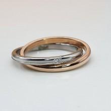 Стальное кольцо женское Единство