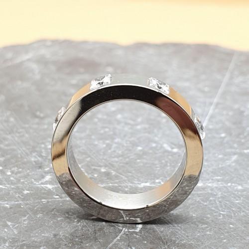 Кольцо из медицинской стали женское Ранди
