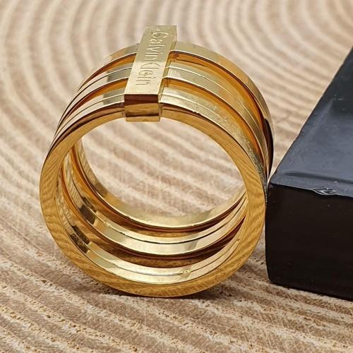 Женское кольцо из стали Подиум
