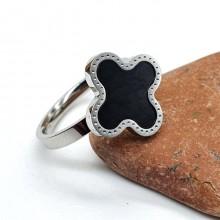 Кольцо из стали для женщин Lucky clover