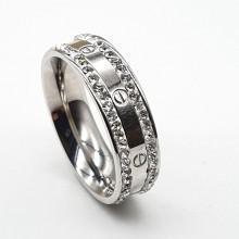 Кольцо сталь для женщин Шарлотта